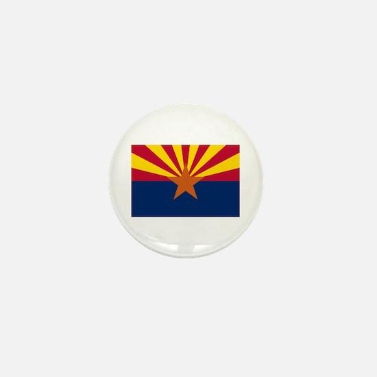 Arizona State Flag Mini Button