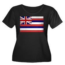 Hawaii State Flag Women's Plus Size Scoop Neck Dar