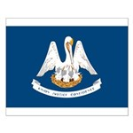 Louisiana State Flag Small Poster