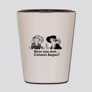 Colonel Angus Shot Glass