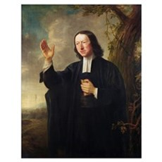 Portrait of John Wesley, c.1766 (oil on canvas) Poster