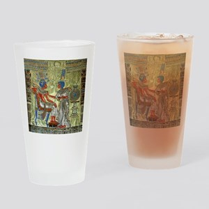 Tutankhamons Throne Drinking Glass