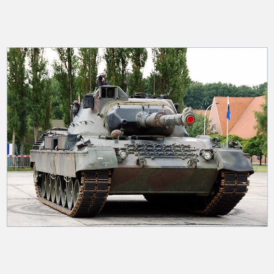 The Leopard 1A5 of the Belgian Army in action