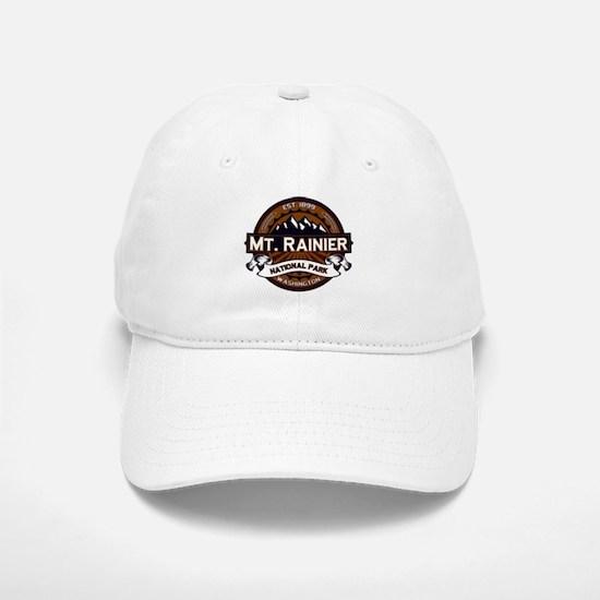 Mt. Rainier Vibrant Baseball Baseball Cap
