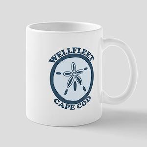 "Wellfleet MA ""Sand Dollar"" Design. Mug"