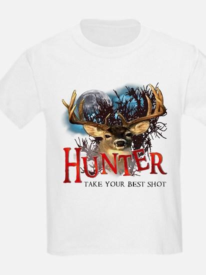 Hunter take your best shot De T-Shirt
