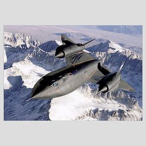 SR71B Blackbird in flight