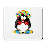 Clown penguin Mousepad