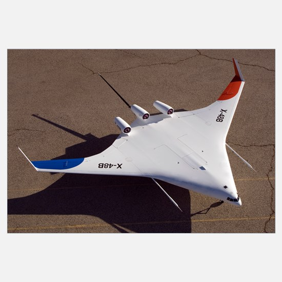 X48B Blended Wing Body unmanned aerial vehicle