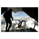 Pararescue Wrapped Canvas Art