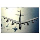 B 52 Wrapped Canvas Art