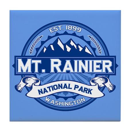 Mt. Rainier Ice Tile Coaster