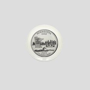 2005 Minnesota State Quarter Mini Button