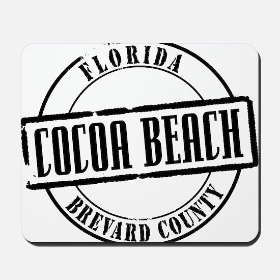 Cocoa Beach Title Mousepad