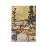 Dulac's Snow Queen Rectangle Magnet