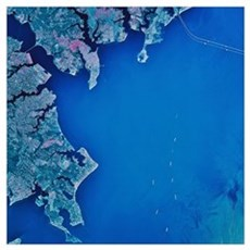Chesapeake Bay and Annapolis Maryland Poster