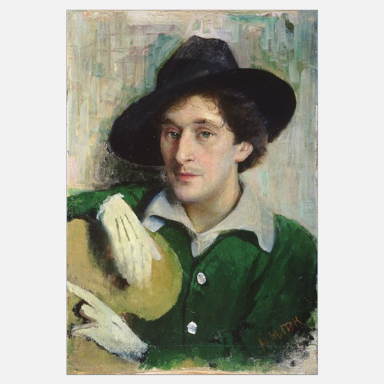 Portrait of Marc Chagall, c.1910 (oil on canvas)