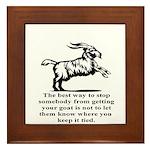 Get your Goat Framed Tile