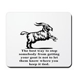 Get your Goat Mousepad
