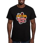 Australian Terrier Men's Fitted T-Shirt (dark)
