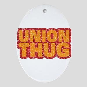 Pro Union Pro American Ornament (Oval)