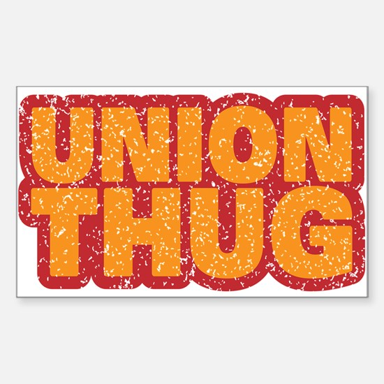 Pro Union Pro American Sticker (Rectangle)
