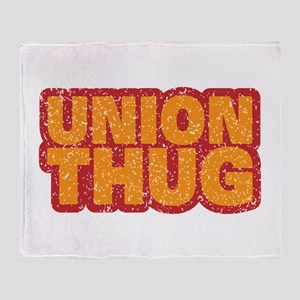 Pro Union Pro American Throw Blanket