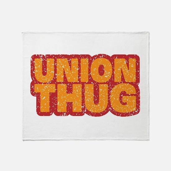 Pro Union Pro American Throw Blanket