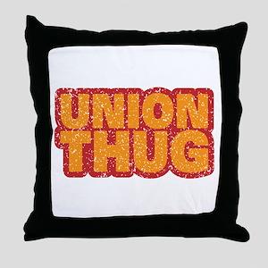 Pro Union Pro American Throw Pillow