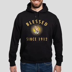 Blessed Since 1912 Hoodie (dark)