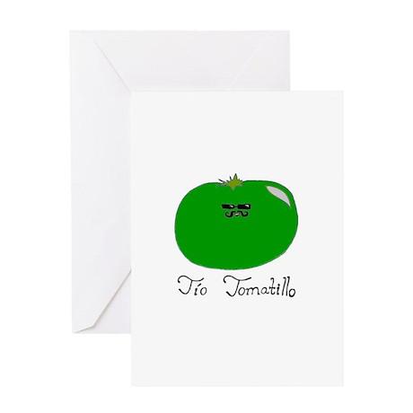 Tio Tomatillo Greeting Card
