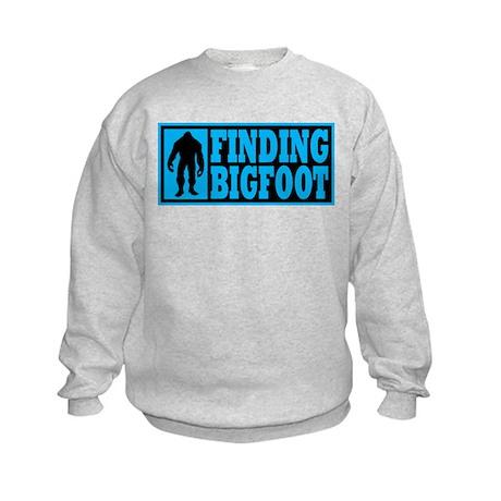 Finding Bigfoot logo Kids Sweatshirt