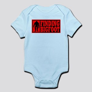 Finding Bigfoot logo Infant Bodysuit