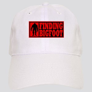 Finding Bigfoot logo Cap