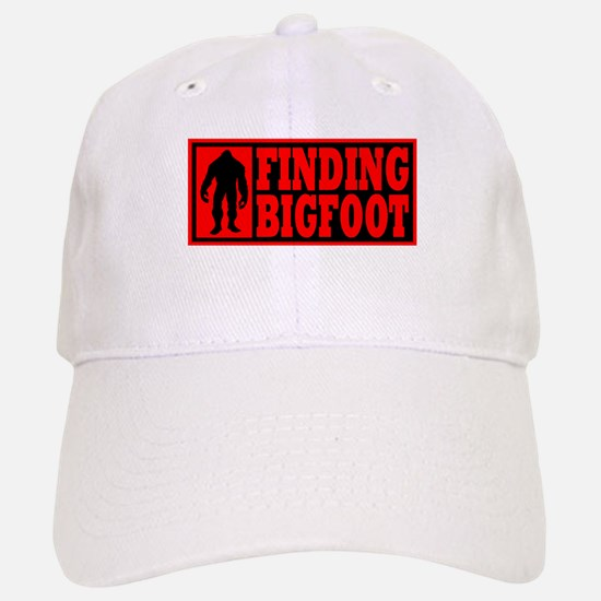 Finding Bigfoot logo Baseball Baseball Cap