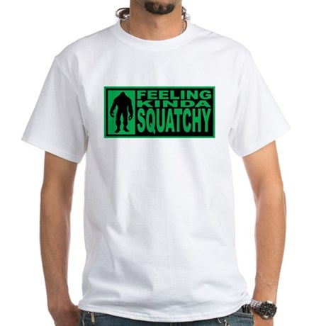Finding Bigfoot - Squatchy White T-Shirt