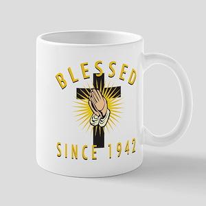 Blessed Since 1942 Mug