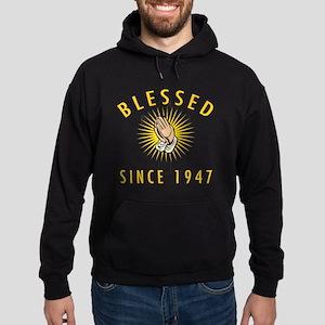 Blessed Since 1947 Hoodie (dark)