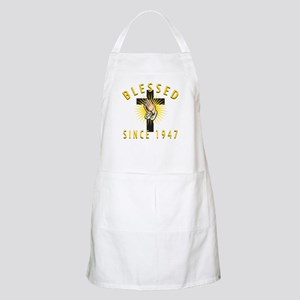Blessed Since 1947 Apron