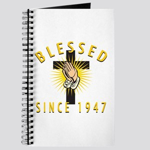 Blessed Since 1947 Journal