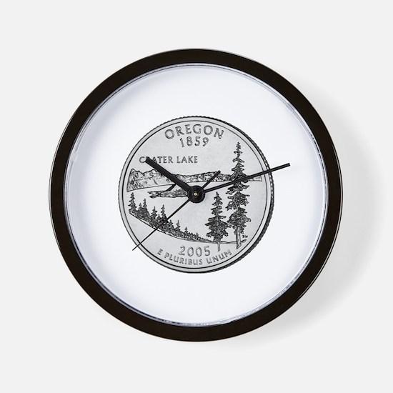 2005 Oregon State Quarter Wall Clock
