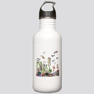 Ocean Life Stainless Water Bottle 1.0L
