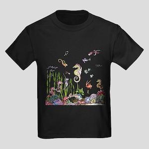 Ocean Life Kids Dark T-Shirt
