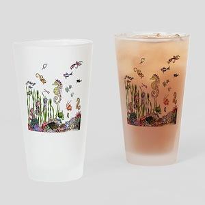 Ocean Life Drinking Glass