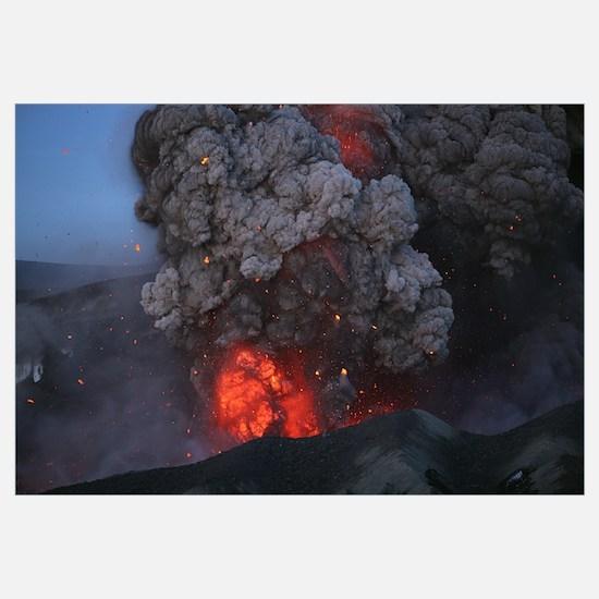 Eyjafjallajkull eruption Summit crater Iceland