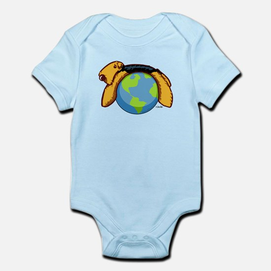 Airedale World Infant Bodysuit