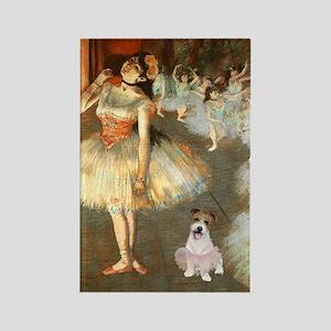 BalletClass-JackRussell #11 Rectangle Magnet
