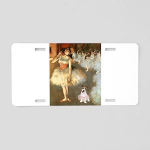BalletClass-JackRussell #11 Aluminum License Plate