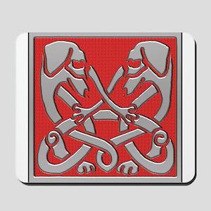 Irish Celtic Dachshund Dogs Mousepad