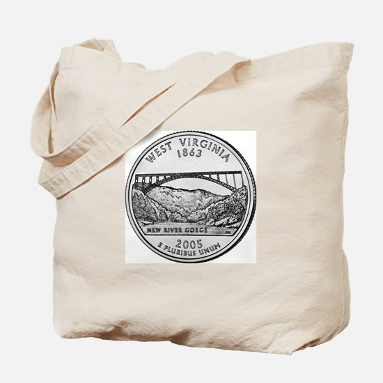 2005 West Virginia State Quar Tote Bag